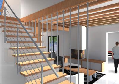 Entrée / cage d'escalier