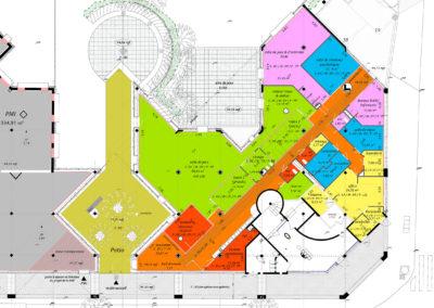 Plan du pôle multi-accueil