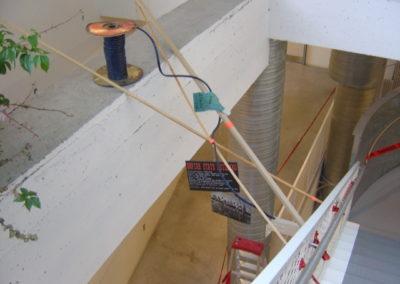 Accrochage à l'aide d'éléments caractéristiques des chantiers
