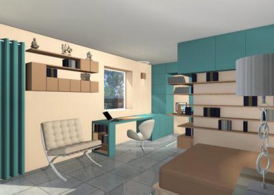 Extension d'une maison individuelle : Création d'une suite parentale