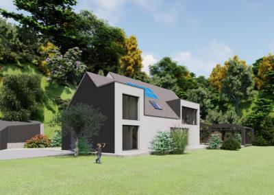 Extension et rénovation d'une maison à Vigneux-de-Bretagne