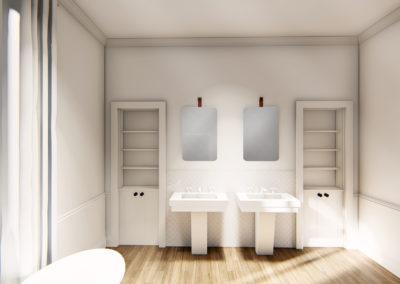 Rénovation d'un hôtel particulier à Nantes