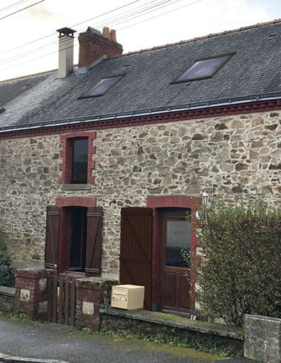 Réhabilitation d'une maison à Couëron