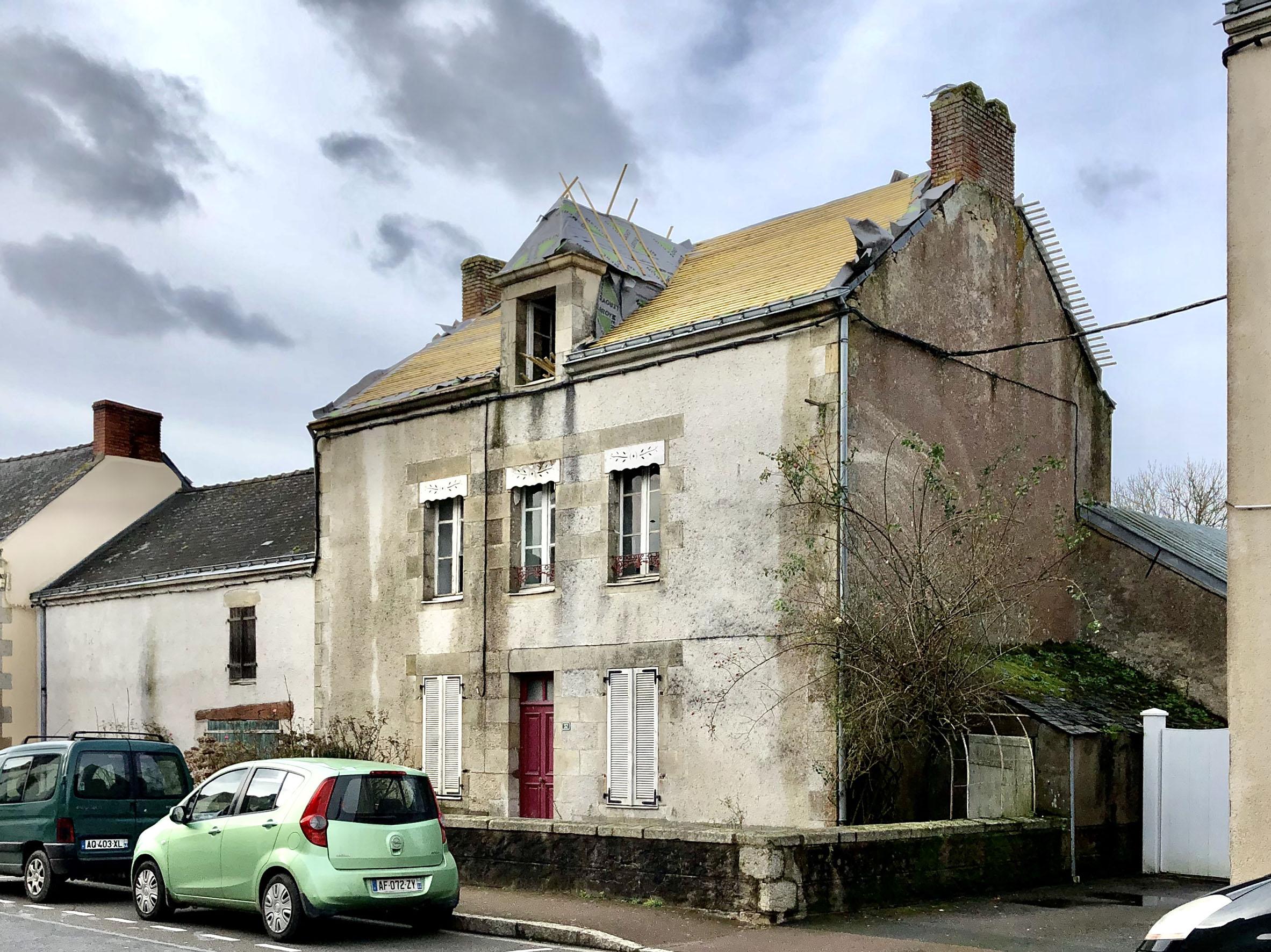 Réhabilitation d'une maison à Vigneux de Bretagne